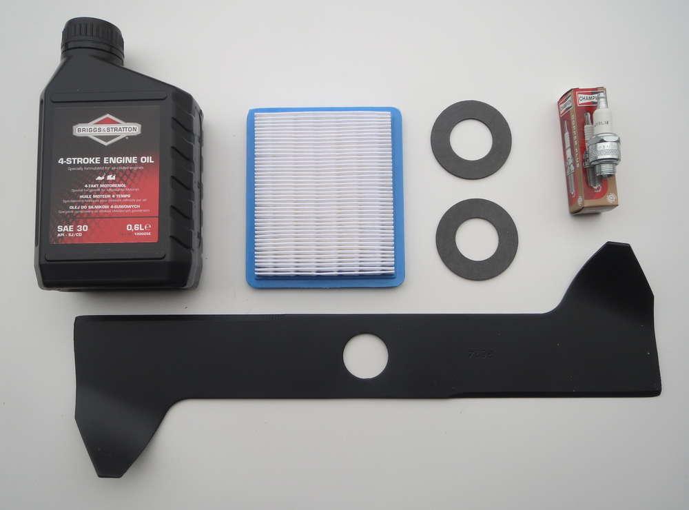 Reparatur Set Für Sabo 43 Cm Briggs Motor Messer Filterkerze